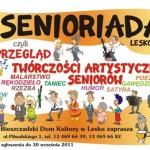 """I Przegląd Twórczości Artystycznej Seniorów ,,Senioriada -Lesko 2011""""."""