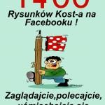 1400 RYSUNKÓW KOST-A NA FACEBOOKU