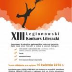 XIII OGÓLNOPOLSKI LEGIONOWSKI KONKURS LITERACKI