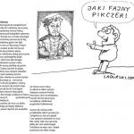 """WIERSZ """"ODEZWA"""" ZOFII NOWACKIEJ-WI-CZEK- LAUREATKI II NAGORODY W IV KONKURSIE SATYRYCZNYM IM. ANDRZEJA GAWROŃSKIEGO 2013"""