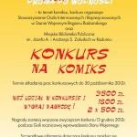 """Konkurs na komiks """"Solidarność – Droga do Wolności"""""""