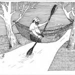 RYSUNEK HENRYKA CEBULI- WYRÓŻNIENIE W VI BIELSKIM KONKURSIE SATYRYCZNYM WRZUĆ NA LUZ W KATEGORII RYSUNKOWEJ