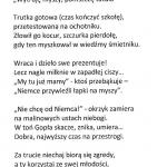 """TEKST JAROSŁAWA ANDRASIEWICZA- II NAGRODA W TURNIEJU LITERACKIM W RAMACH XX OGÓLNOPOLSKIEGO TURNIEJU SATYRY """" O ZŁOTĄ SZPILĘ"""" 2017"""