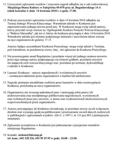 Archiwum Portalu Iii Ogólnopolski Konkurs Poetycki Wiersza