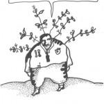 RYSUNEK MICHAŁA GRACZYKA- WYRÓŻNIENIE W VII BIELSKIM KONKURSIE SATYRYCZNYM WRZUĆ NA LUZ W KATEGORII RYSUNKOWEJ