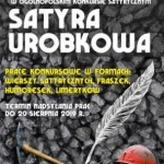 """Ogólnopolski Konkurs Satyryczny """"SATYRA UROBKOWA"""""""