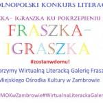 """OGÓLNOPOLSKI KONKURS LITERACKI """"FRASZKA-IGRASZKA KU POKRZEPIENIU SERC"""" ROZSTRZYGNIĘTY"""