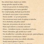 """JACEK SIKORA- TEKST- GRAND PRIX W II OGÓLNOPOLSKIM KONKURSIE SATYRYCZNYM """"SATYRA UROBKOWA"""""""