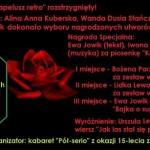 """KONKURS SATYRYCZNY """"O KAPELUSZ RETRO"""" 2020 WYNIKI"""