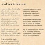 """EDYTA HANSLIK- TEKST- NAGRODA SPECJALNA W II OGÓLNOPOLSKIM KONKURSIE SATYRYCZNYM """"SATYRA UROBKOWA"""""""