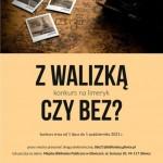 """KONKURS NA LIMERYK """"Z WALIZKĄ CZY BEZ?"""""""